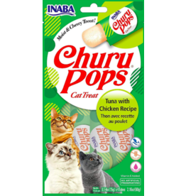 Inaba Inaba Churu Pops Tuna & Chicken 4 pk