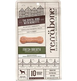 Presidio Natural Pet Co Terrabone Dental Bones Fresh Breath Medium 10.9 oz