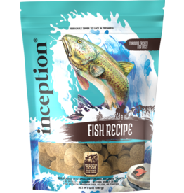 Inception Inception Dog Treats | Fish Biscuits 12 oz