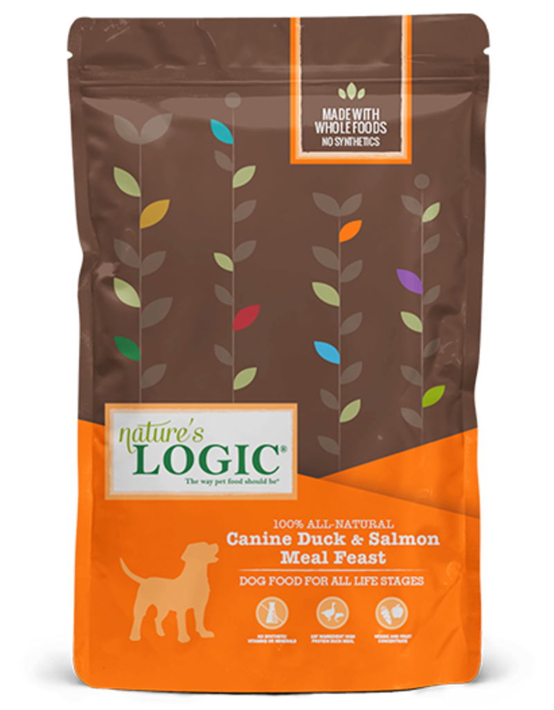 Nature's Logic Nature's Logic Dog Kibble Duck & Salmon 25 lb