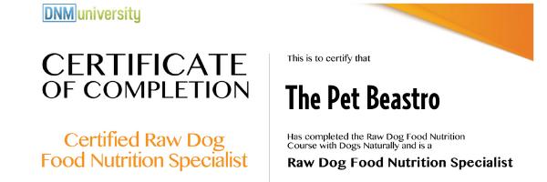 raw pet food specialists in metro Detroit Michigan