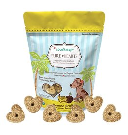 CoCo Therapy Coco Therapy Dog Treats | Pure Hearts Banana Brulee 5 oz