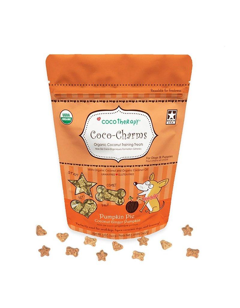 CoCo Therapy Coco Therapy Dog Treats   Coco-Charms Pumpkin Pie 5 oz