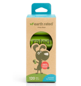 Earth Rated Earth Rated Poop Bags Unscented 8 Rolls 120 ct