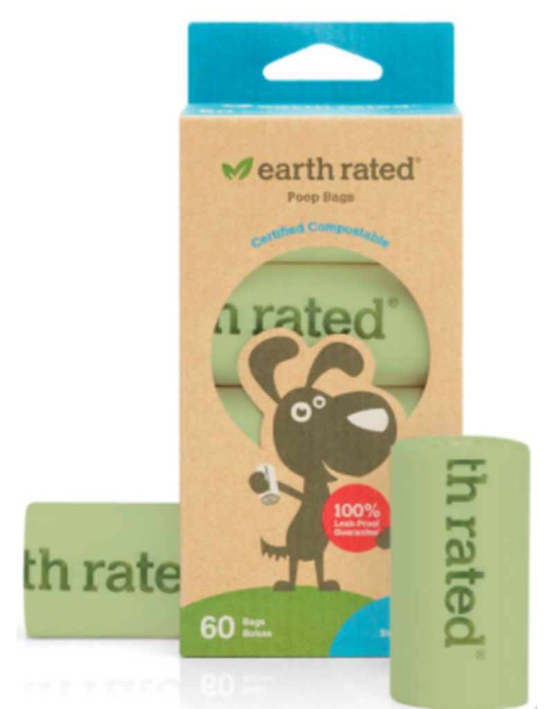 Earth Rated Earth Rated Poop Bags Compostable Unscented 60 ct