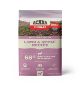 Champion Pet Foods Acana Singles Dog Kibble | Lamb & Apple 13 lb
