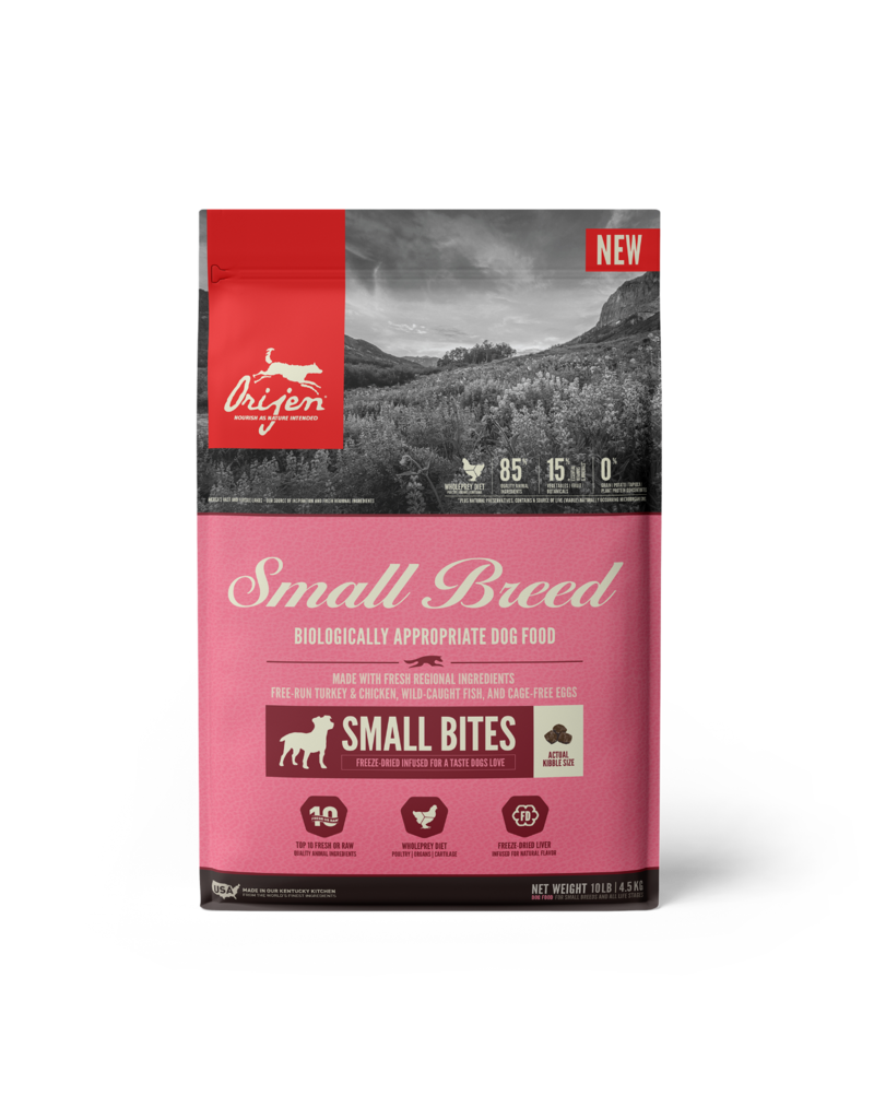 Champion Pet Foods Orijen Dog Kibble Small Breed 10 lb