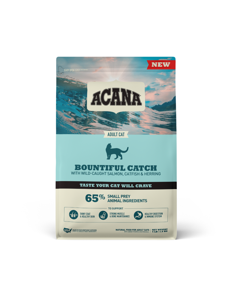 Champion Pet Foods Acana Cat Kibble Bountiful Catch 4 lb