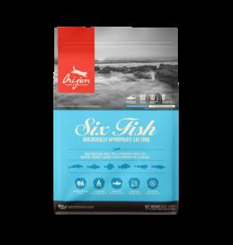 Orijen Orijen Cat Kibble Six Fish 4 lb
