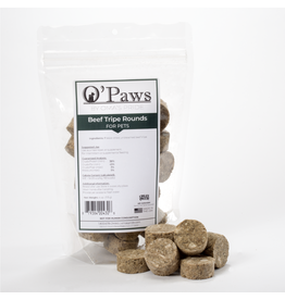 Oma's Pride DISC Oma's Pride Freeze Dried Beef Tripe Rounds 4 oz single