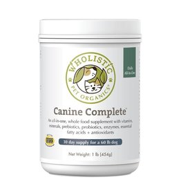 Wholistic Pet Organics Wholistic Pet Organics Canine Complete 4 oz