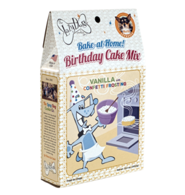 Lazy Dog Cookie Co. Lazy Dog Birthday Cake Mix | Vanilla with Confetti Frosting 12 oz