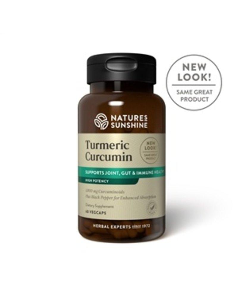 Nature's Sunshine Supplements Turmeric Curcumin (CurcuminBP) 60 capsules