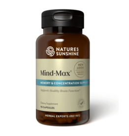 Nature's Sunshine Supplements Mind Max 90 capsules