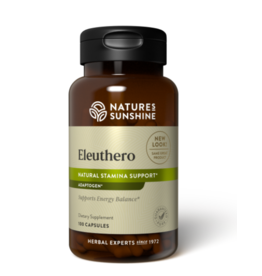 Nature's Sunshine Supplements Eleuthero 100 capsules
