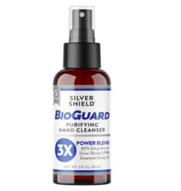 Natures Sunshine Silver Shield BioGuard Spray 2 oz