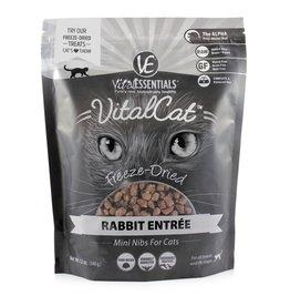 Vital Essentials Vital Essentials Freeze Dried Cat Food Mini Nibs Rabbit Entree 2 oz