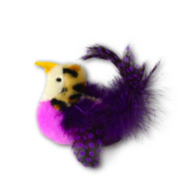 OurPet's Our Pets Toys | Catnip Real Bird Toy Purple