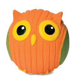 HuggleHounds HuggleHounds Ruff-Tex Owl Ball Small