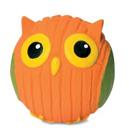 HuggleHounds HuggleHounds Ruff-Tex Poppy the Owl Ball Small