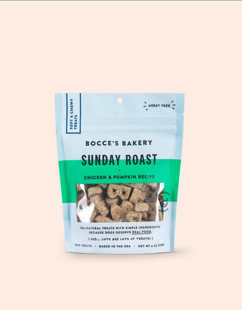 Bocce's Bakery Bocce's Bakery Dog Treats Soft & Chewy Sunday Roast 6 oz