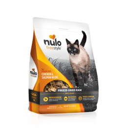 Nulo Nulo Grain-Free Cat Freeze-Dried Raw Chicken & Salmon 13 oz