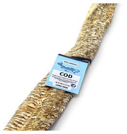 IcelandicPLUS Icelandic+ Dog Treats Long Cod Skin Strip single