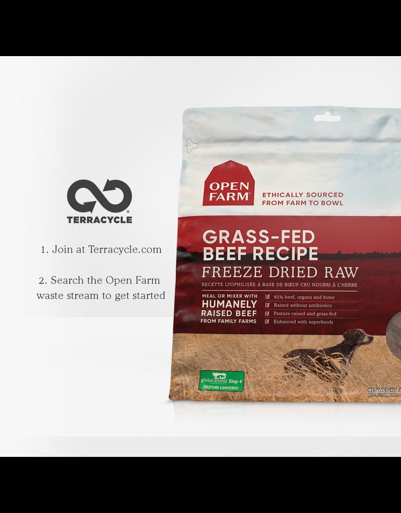 Open Farm Open Farm Freeze-Dried Raw Grass-Fed Beef 13.5 oz