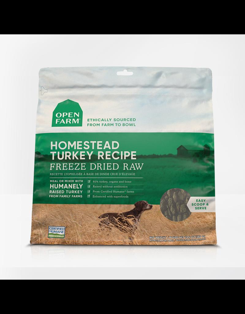 Open Farm Open Farm Freeze-Dried Raw Homestead Turkey 13.5 oz