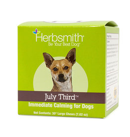 Herbsmith Herbsmith July Third 30 Large Chews 7.02 oz