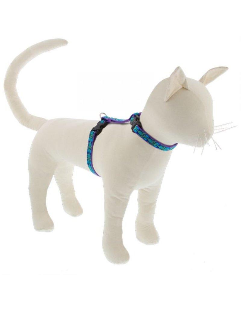 "Lupine Lupine Cat H-Harness   Rain Song 12-20"""
