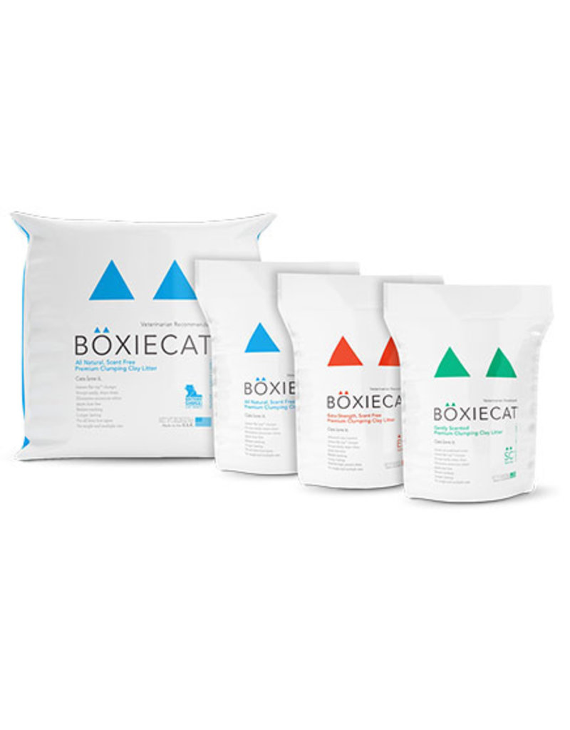 BoxieCat BoxieCat Litter Scent-Free Pouch 16 lb (* Litter 12 lbs or More for Local Delivery or In-Store Pickup Only. *)