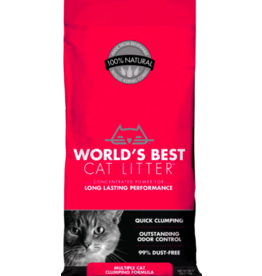 World's Best World's Best Cat Litter Multi-Cat Clumping 28 lb (* Litter 12 lbs or More for Local Delivery or In-Store Pickup Only. *)
