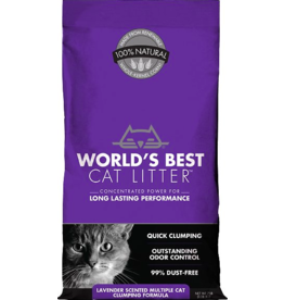World's Best World's Best Cat Litter Original Lavender 28 lb (* Litter 12 lbs or More for Local Delivery or In-Store Pickup Only. *)