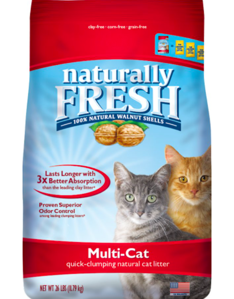 Eco Shell Naturally Fresh Walnut Multi-Cat Clumping Litter 14 lb (* Litter 12 lbs or More for Local Delivery or In-Store Pickup Only. *)