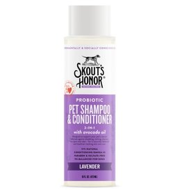 Skout's Honor Skout's Honor Probiotic Shampoo & Conditioner Lavender 16 oz