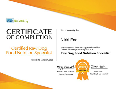 Beastro Team Member Nikki Eno Talks About Raw Feeding Certification For Pets