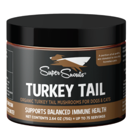 Super Snouts Super Snouts Supplements | Turkey Tail Mushrooms 2.64 oz