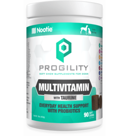 Nootie Nootie Progility Soft Chew Multivitamin with Taurine 90 count