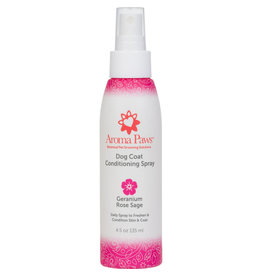 Aroma Paws Aroma Paws Dog Coat Conditioning Spray Geranium Rose Sage 4.5 oz