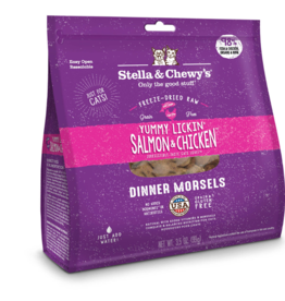 Stella & Chewy's Stella & Chewy's Freeze Dried Cat Food Salmon & Chicken Dinner 18 oz