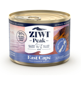 Ziwipeak ZiwiPeak Canned Dog Food | Provenance Series East Cape 6 oz CASE