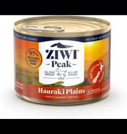Ziwipeak ZiwiPeak Canned Dog Food | Provenance Series Hauraki Plains 6 oz CASE