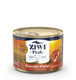 Ziwipeak ZiwiPeak Canned Cat Food | Provenance Series Hauraki Plains 6 oz single