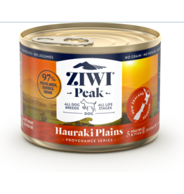 Ziwipeak ZiwiPeak Canned Dog Food | Provenance Series Hauraki Plains 6 oz single