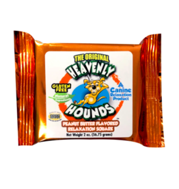 Heavenly Hounds Peanut Butter Relaxation Squares 2 oz single
