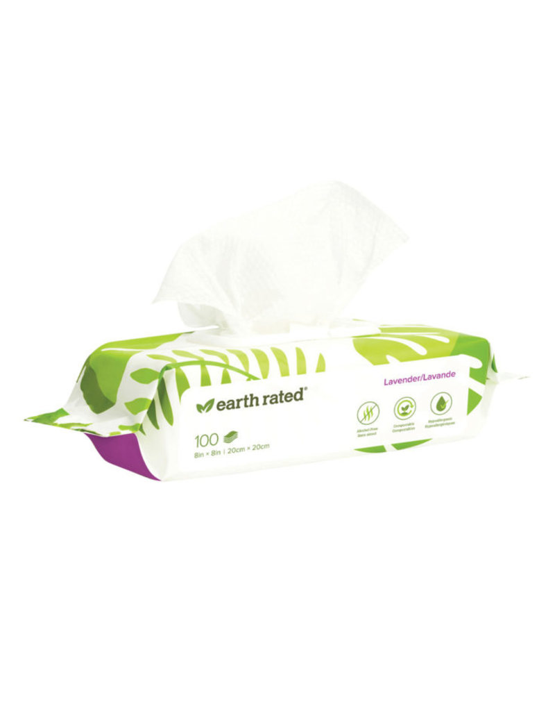 Earth Rated Earth Rated Dog Wipes | Lavender 100 ct