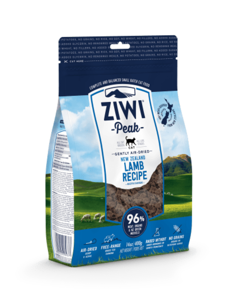 Ziwipeak ZiwiPeak Air-Dried Cat Food Lamb 14 oz