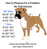 """2 hounds Design 2 Hounds Design Freedom No-Pull Harness 5/8"""" Small Red"""