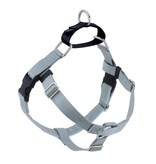 "2 hounds Design 2 Hounds Design Freedom No-Pull Harness 5/8"" Small Silver"
